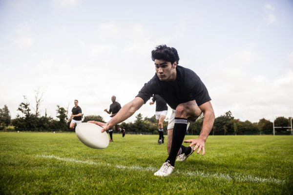 Semelles rugby pour crampons