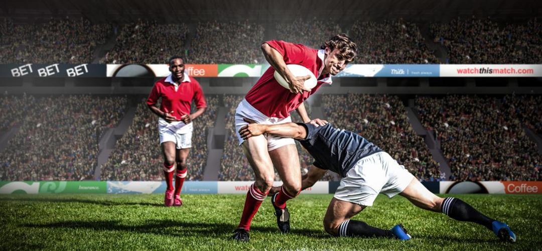 Semelles sport pour les crampons de rugby