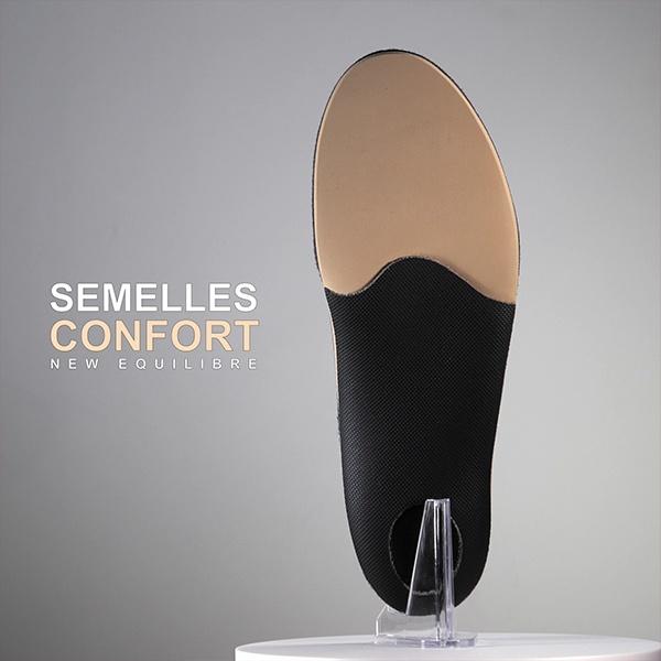 Semelles orthopédiques confort