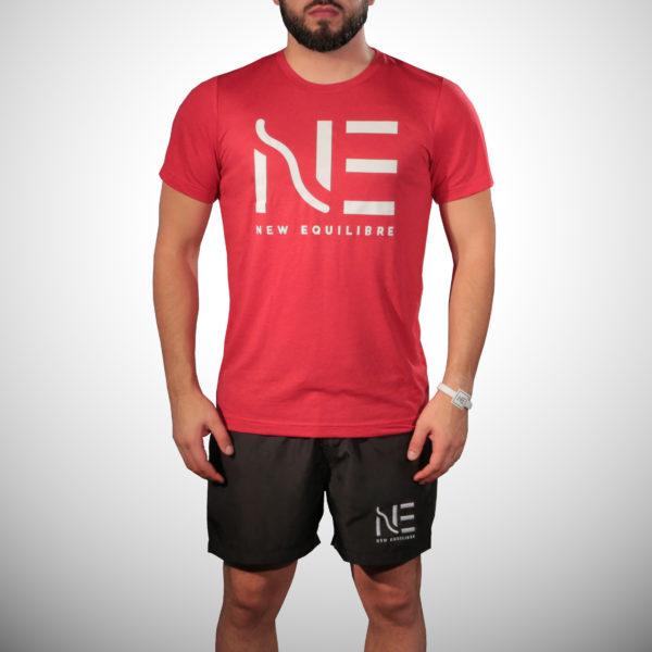 T-shirt Homme Tri-blend Rouge