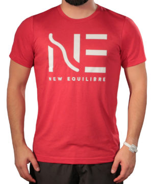T-shirt Homme Tri-blend Rouge