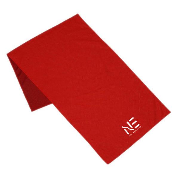 Serviette de sport rouge