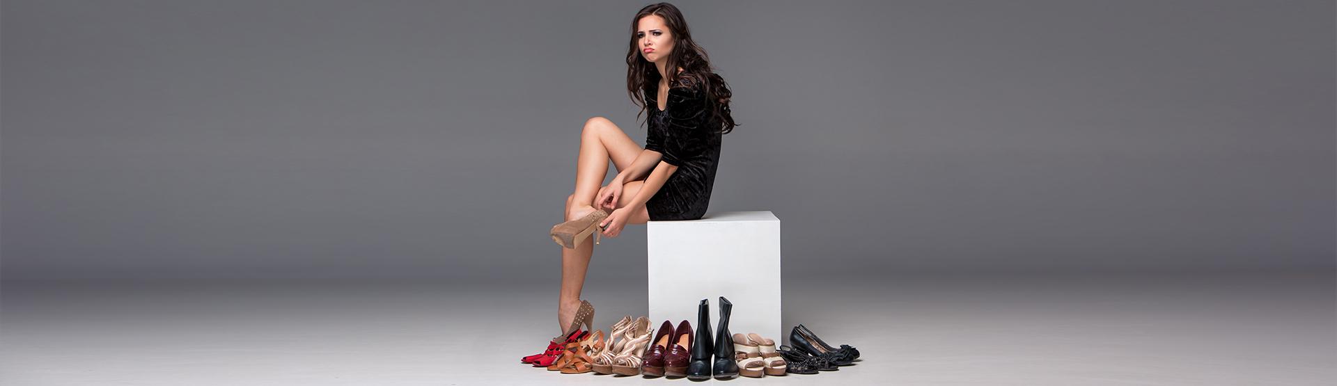 Les chaussures à talons, à consommer avec modération